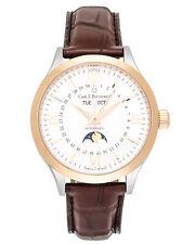 Carl F. Bucherer 18K Gold & Steel Manero Moonphase Automatic Men's Watch