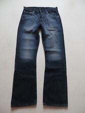 Levi's 507 Bootcut Jeans Hose, W 32 /L 32, Schwarz ! Black washed Denim, KULT !