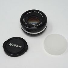 Nikon NIKKOR Ai-s 50 mm f/1.8 Lente Estándar E