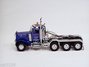 "Peterbilt 379 Truck Tractor - RICH'S TOWING"" - Blue - 1/50 - WSI"