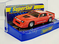 Slot Car Scalextric Superslot H4073 Chevrolet Camaro IROC-Z #12