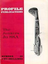 AIRCRAFT PROFILE 29 WW2 JUNKERS Ju88 BOMBER LUFTWAFFE KG AFRIKA KORPS BoB RUSSIA