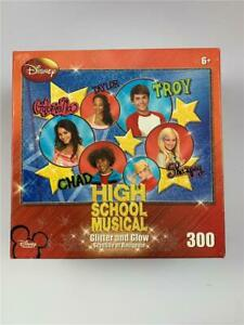 HIGH SCHOOL MUSICAL Glitter and Glow Jigsaw Puzzle 300 Piece Sealed