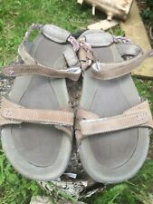 Hi-tec Women's Sandals 40/7 Brown Lilac Maui Strap
