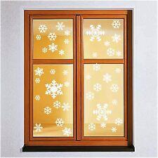 42x Schneeflocke Wandtattoo Winter Weihnachten Fenstertattoo Sticker Deko
