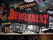 Devourment Back Patch Strip Backpatch Death Metal