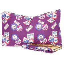 Completo lenzuola Disney Violetta School una piazza 100% cotone viola L590