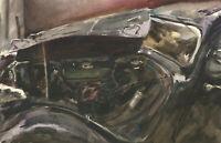 Howard J. Morgan (b.1949) - Signed Contemporary Watercolour, Vintage Car
