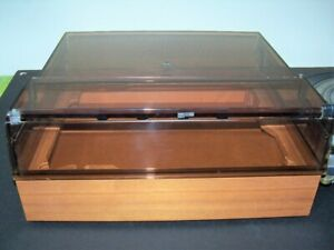 DUAL 1229 TURNTABLE SERVICED WITH PLINTH AND RARE DUST COVER NICE!