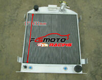 3 core aluminum radiator for FORD 1932 Hi-Boy Chevy engine hotrod AT/MT