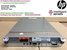 HP P2000 G3 10GbE iSCSI MSA Array Controller ** AW595A **