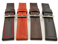 Genuine Leather Replacement Watch Strap Band 20 22 24 26 Spring Bars LUMINOR MM