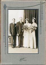 Mankato, MN, Old Wedding Portrait in Studio Folder, by Krause, circa 1940