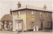 Yorkshire.(N).(YO179QP).Langton nr. Malton.. photo / postcard.house /school.1911