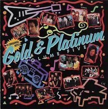1989 Gold and Platinum Volume 5 CD Springstien Foreigner Europe Pink Floyd   #29
