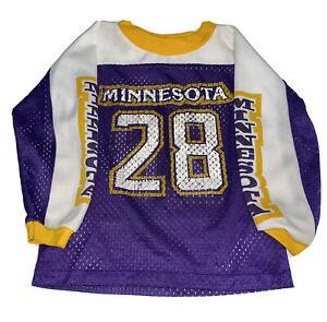 Vintage 70s Rawlings NFL Minnesota Vikings Ahmad Rashad Jersey Youth Size Large