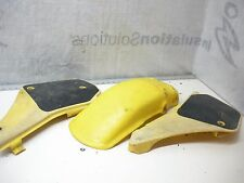 RM125 Suzuki 1987 side panel number plates and rear fender see video #80