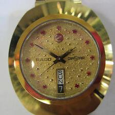 RADO DIASTAR MEN'S AUTOMATIC WATCH SAPPHIRE ALL S/S GOLD ORIGINAL R12413283 NEW