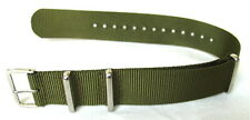 Green Military Style 4 Ring Watch Strap! 22mm fits Seiko 6309, 7002, SKX007...