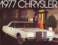 1977 CHRYSLER NEW YORKER & NEWPORT BROCHURE -NEW YORKER-NEWPORT-TOWN & COUNTRY
