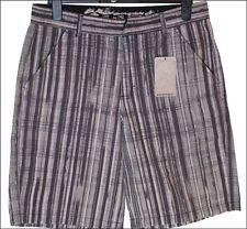 """Auténtico Con Etiqueta Hombre Oakley Rayas Pantalones cortos W30"""" Nuevo Negro"""