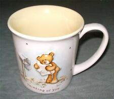 Gund Thinking of You Teddy Bear Holding Letter Yellow Inside 3-D Cup Mug