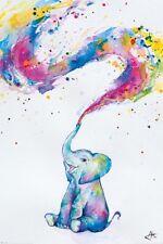 Marc Allante - Spring Baby Elephant POSTER 61x91cm