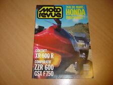 Moto revue N° 2941 Kawasaki ZZR 600 / Suzuki 750 GSX-F