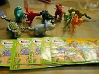 Ü-Ei Dinosaurier UN001 - UN008 Komplett mit allen BPZ