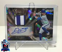2020 Panini Select Bo Bichette Blue Jays Patch Auto Cracked Ice Prizm RC SSP /25