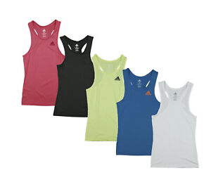 Adidas Youth Girls Perfect Rib Athletic Work Out Tank Top, Many Colors