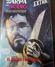ZARPA DE ACERO VOLUMEN 1 NÚM. 22 PRIMERA EDICIÓN EDICIONES VÉRTICE TOMITO MBE