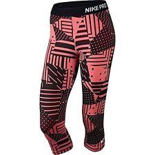 Nike Pro Printed Capri Tight Fit Tights Mallas Running Training Talla XS