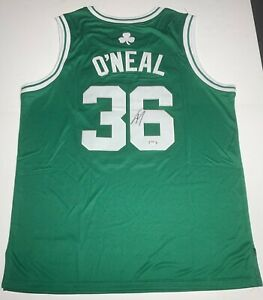 Shaquille O'Neal Signed Boston Celtics Jersey PSA 9A24461 Shaq Autographed