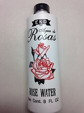 EKO ROSE WATER 8 FL OZ PLASTIC BOTTLE (AGUA DE ROSAS)