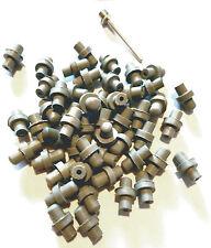 Replacement Valves- for soccer, footballs, basketballs 30 valves 2 needles