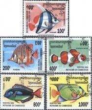 Cambogia 1543-1547 (edición completa) usado 1995 peces