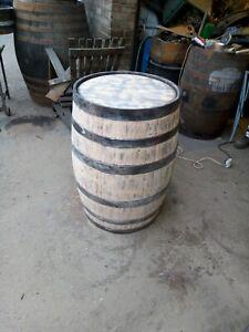 Refurbished ORIGINAL WHISKEY OAK BARREL Wooden Keg Barrel Pub Bar Whisky