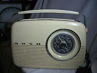 Vintage BUSH TR 82B Portable Transistor RadioFM/ MW&LW - Tested and Working