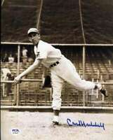 Carl Hubbell PSA DNA Coa Hand Signed 8x10 Photo Autograph