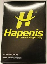 HAPENIS, The STRONGEST MALE ENHANCEMENT PILL (RED PILL) 4 pill pack