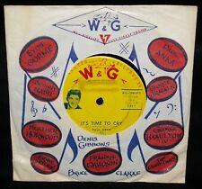 PAUL ANKA - IT'S TIME TO CRY - VERY RARE 1959 OZ. 1ST PRESS/WG-SPN.870/EX