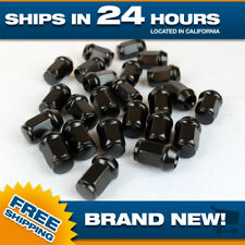 12x1.5 lug nut Black lugnuts Acorn Bulge m12x1.5 Set of 24 pcs Steel nuts