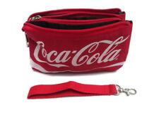 Coca-Cola Classic Script Zippered Nylon Wristlet Red - BRAND NEW