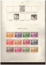 Norfolk Island - George VI MINT STAMPS FROM SG Printed Album - complete to 2s