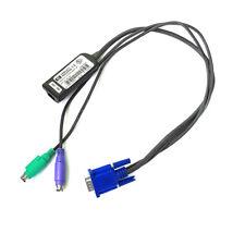 HP Hewlett Packard 520-290-005 KVM Interface Adapter Cable 286597-001 UNC1-3704