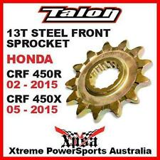 Talon Motorcycle Front Sprockets
