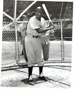 1955 Orig Baseball Photo American & Negro League Player SAM JETHROE Toronto