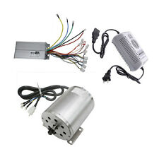 1800W 48V Brushless Electric Motor +Controller Charger for ATV GoKart Scooter su