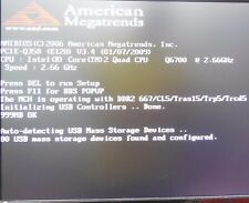 IEI PCIE-Q350-R11 & CPU Q6700 @ 2.66GHz & RAM tested